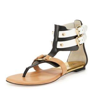 MICHAEL Kors | 'Nadine' gladiator leather sandal.